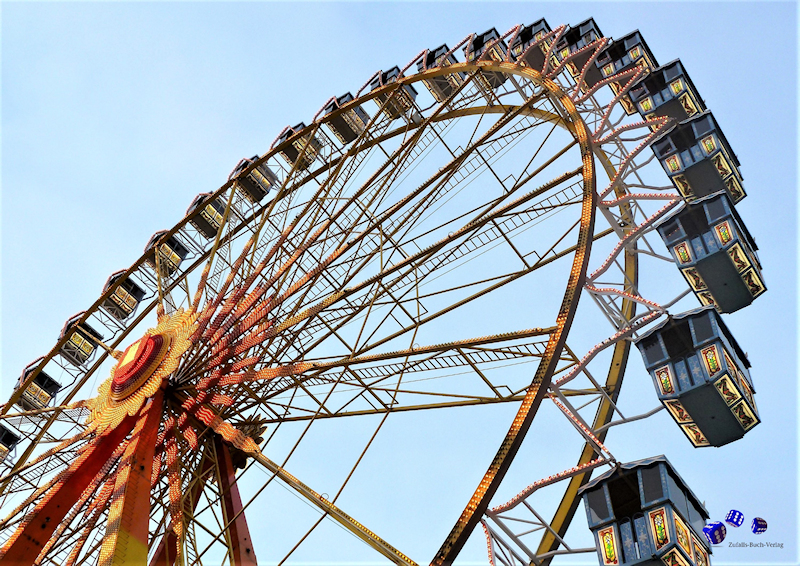 12 High quality prints - Ferris wheels