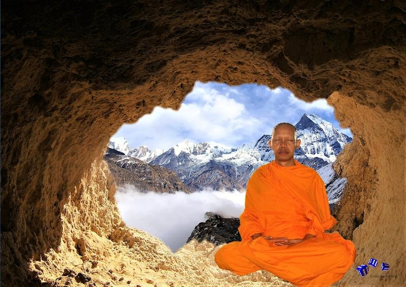 Meditation - Sonderdruck im A3 Format