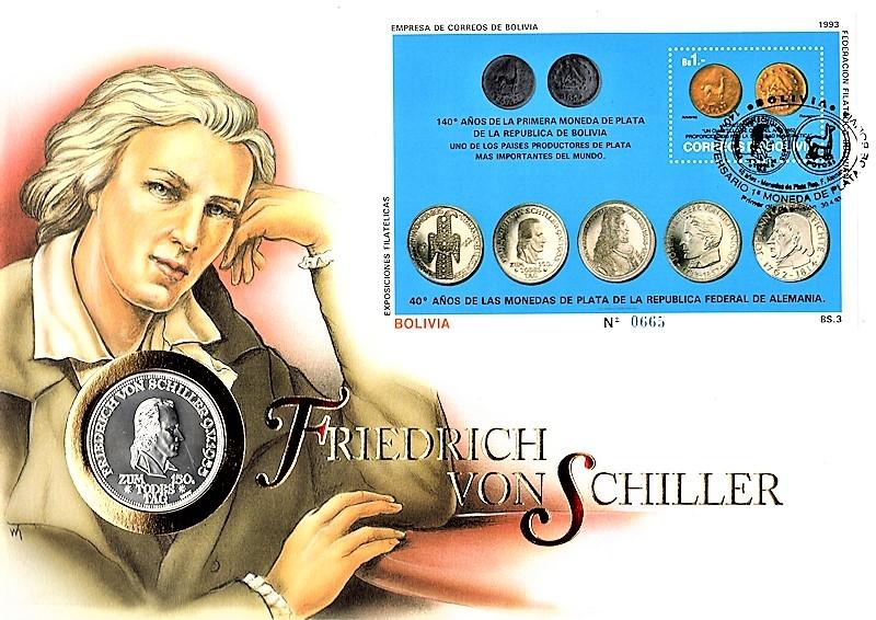 Friedrich von Schiller - Bolivien 30.04.1993