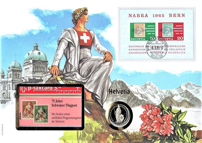 Maxi Brief - Helvetia - 08.03.1995
