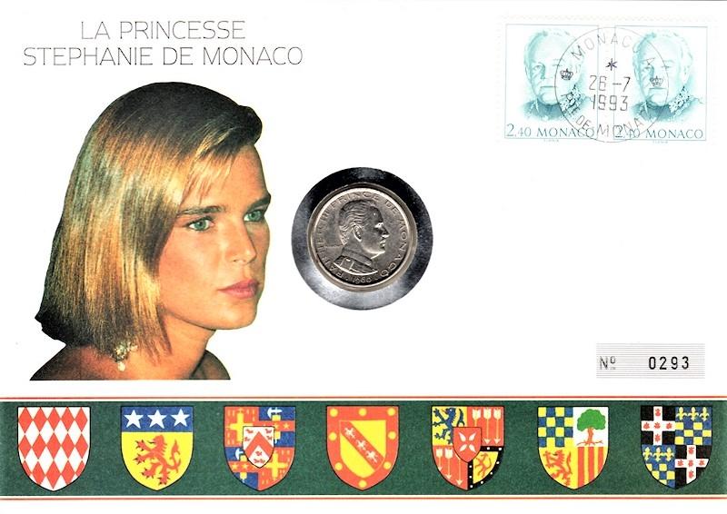 La Princesse Stephanie de Monaco - Fürstentum Monaco - 28.07.1993