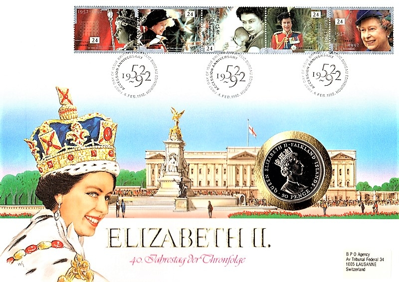 Maxi Brief - Elizabeth II. - 06.02.1992