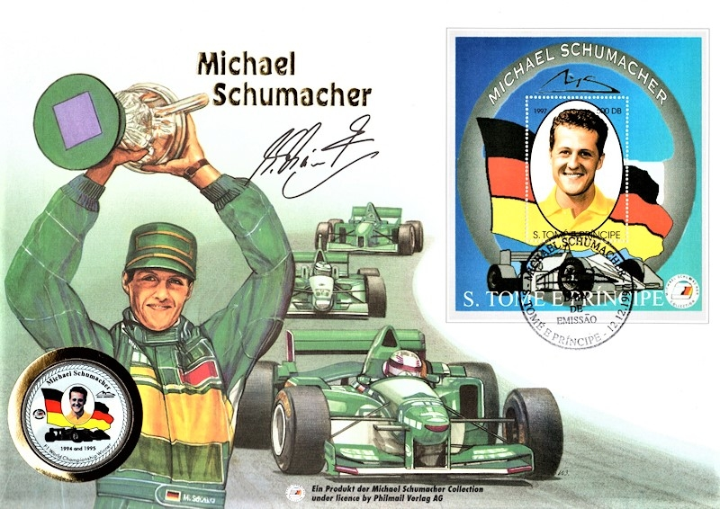Maxi Brief - Michael Schumacher - S. Tome E Principe 12.12.1997