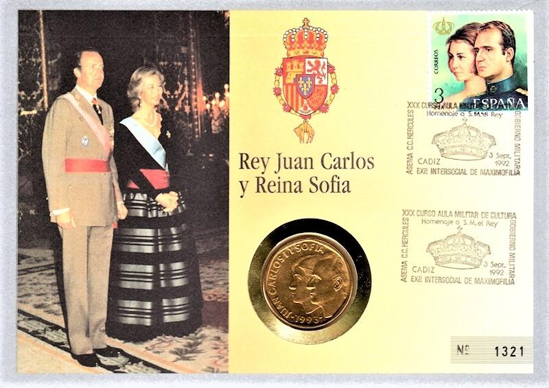 Rey Juan Carlos y Reina Sofia - Cadiz 03.09.1992