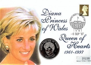 Diana Princess of Wales - Queen of Hearts 1961 - 1997