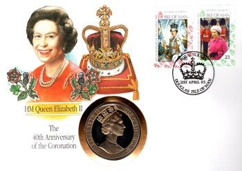 HM Queen Elizabeth II - The 40th Anniversary of the Coronation