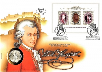 Wolfgang A. Mozart - 200. Anniversary of death