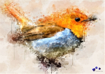 High quality art print - Little bird