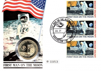 First Man on the Moon - Anniversary of moon landing - 21.07.1992