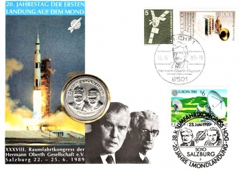 20th Anniversary of the first moon landing - Salzburg 28.06.1989
