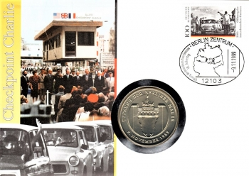Checkpoint Charlie 1989 - Berlin 09.11.1999