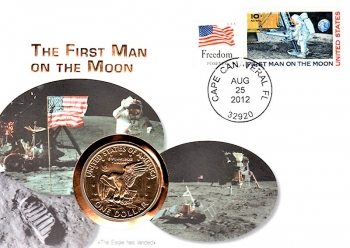 The First Man on the Moon - Cape Canaveral FL - 25.08.2012